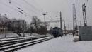 ЧС7-118/ЧС2-191 Следует с поездом 119 сообщением Запорожье-1-Львов.и приветливая бригада.