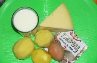 Картофель в молоке в мультиварке
