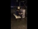 Ночная набережная в Казани Музыка души