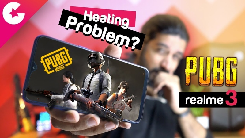 PUBG on Realme 3 🔥🔥 HEATING ISSUES Gaming Review (Hindi)