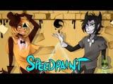 - SPEEDPAINT - Bill Cipher Bendy - Gravity Falls BATIM -
