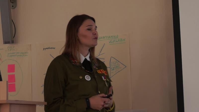 Видеоотчет с совещания студенческих медицинских отрядов с представителями медучреждений