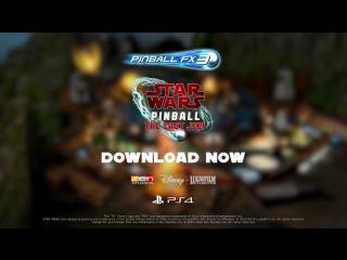 Pinball FX3 - Star Wars Pinball The Last Jedi Launch Trailer ¦ PS4