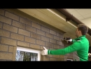 HAUBERK монтаж фасадной плитки