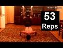 53 Handstand Push Ups - WORLD RECORD