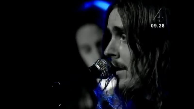 Opeth - In my time of need - live on Swedish TV 2003-5-28