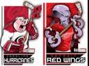 Carolina Hurricanes vs Detroit Red Wings