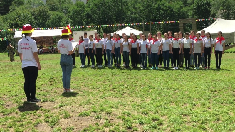 Клятва волонтера в МКТЛ Горец