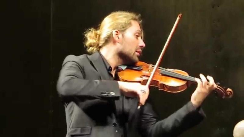David Garrett Julien Quentin - Paris 22.03.15 - Scherzo - Johannes Brahms