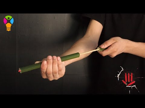 How to make Bamboo Gun