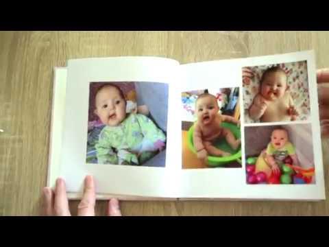 Детская фотокнига 20х20 в твердой обложке