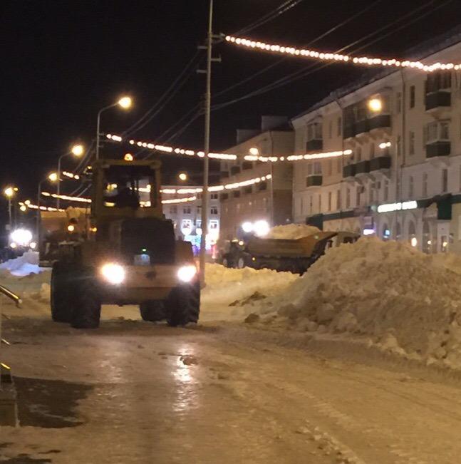 Как и в прошлые годы, городской округ город Кумертау в зимнее время очищают от снега