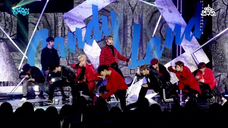 180317 UP10TION - CANDYLAND (общий фанкам) @ Show! Music Core