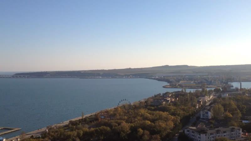 Вид с горы Митридат.Керчь