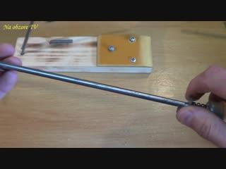 Сделай и себе этот инструмент точилка для ножей своими руками