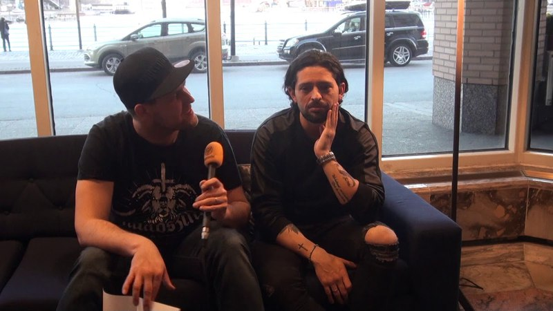 Rainbow / Lords Of Black Interview Ronnie Romero @ Helsinki, Finland 13.4.2018