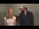 Zachary Levi Yvonne Strahovski Preview Tangled Season 2
