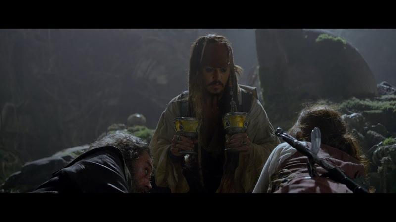 Капитан Джек Воробей перепутал чаши Смерть Черной Бороды Филип и Сирена HD