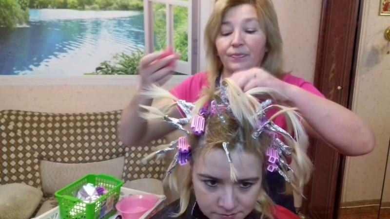 Долгожданное видео про объём у корней волос с клипсаторами.