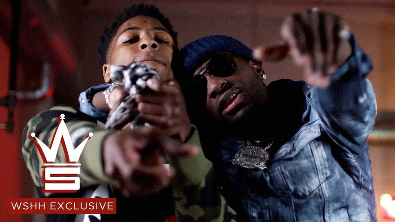 Ralo YoungBoy Never Broke Again - Rain Storm (Official Music Video 01.07.2018)