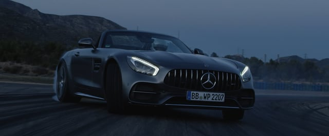 """Incomparable"""" (feat. AMG GT C Roadster 190 SL) (Anamorph 422)"""