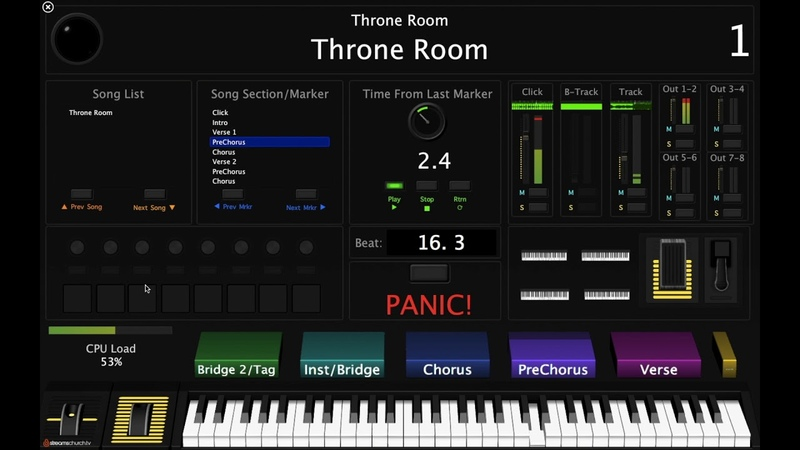 Throne Room (Kim Walker-Smith) MainStage Keys Tutorial