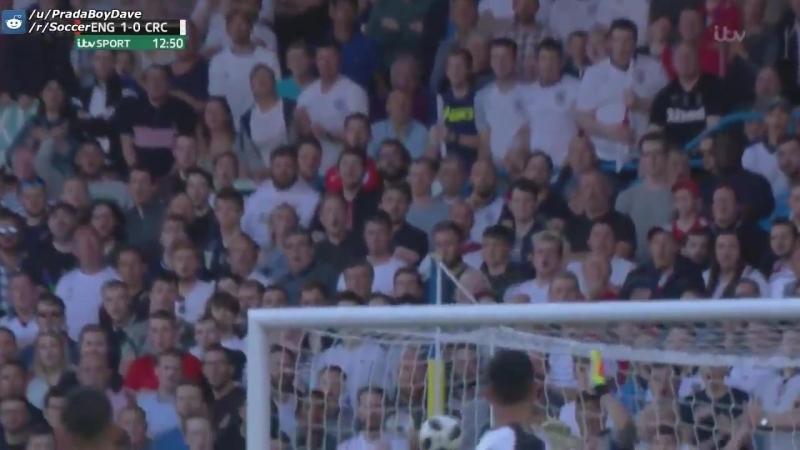 Смотрите, какую красоту сделал вчера в ворота Коста-Рики Маркус Рашфорд на 13-й минуте