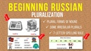 Beginning Russian Plural Forms of Nouns