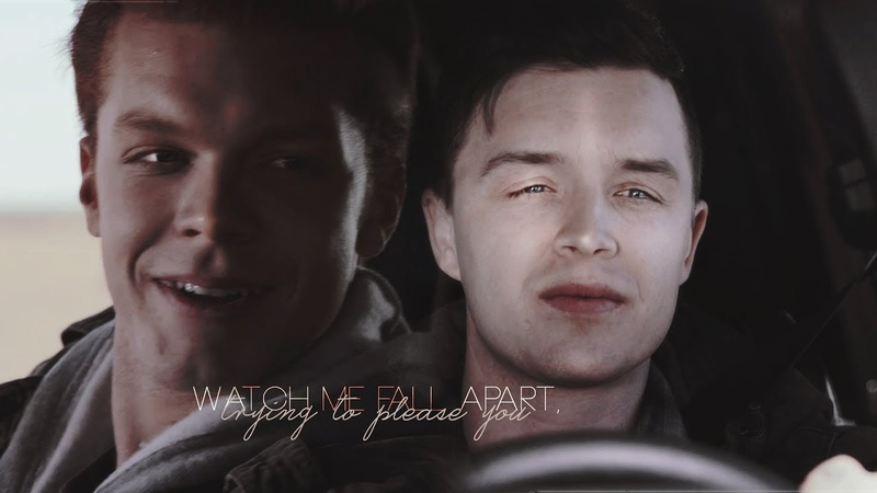 { Mickey x Ian } | Watch me fall apart, trying to please you | Gallavich