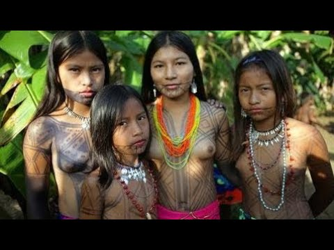 New Documentary - Tears Of The Girls In Amazon (Tribal Language) HD 2017 l reallife girls