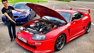 600 л.с. TOYOTA SUPRA vs 600 л.с. BMW M5 F90!) 2JZ механика! Обзор и тест-драйв легенды. JDM. NFS.