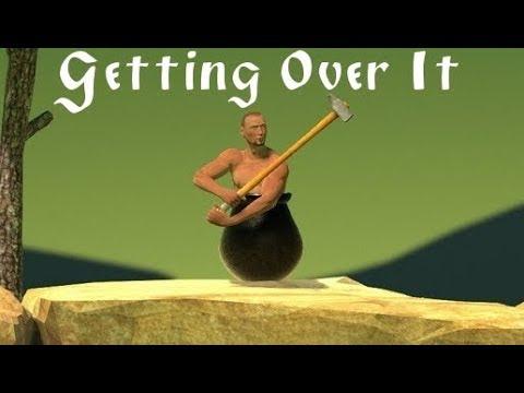 Getting Over It ● Прохождение игры Getting Over It (ИГРА ГДЕ НУЖНЫ НЕРВЫ) 2●●➤QP Show