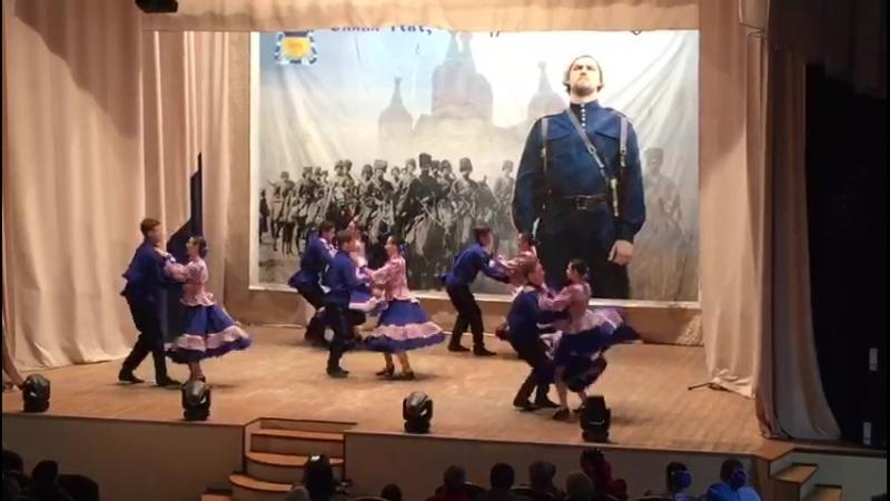 Казаки-кадеты Лебяжьевского казачьего корпуса на открытии регионального праздника казачьей культуры в п.Лебяжье