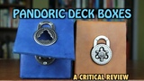 MTG - A critical review of Pandoric Deck Boxes for Magic The Gathering, Pokemon and other TCGs