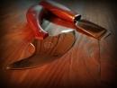 Ножи для работы с кожей и киянка универсальная