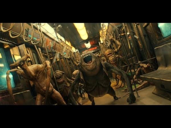 Animal World (2018) - Train Fight