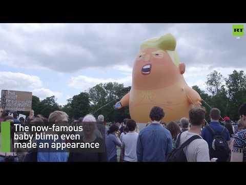 Anti-Trump protesters mobilise in Scotland