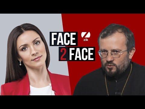 Архімандрит Кирило (Говорун), професор університету Лойола-Мерімаунт, у програмі FACE 2 FACE