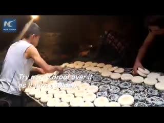 Рецепт приготовления уйгурских лепешек