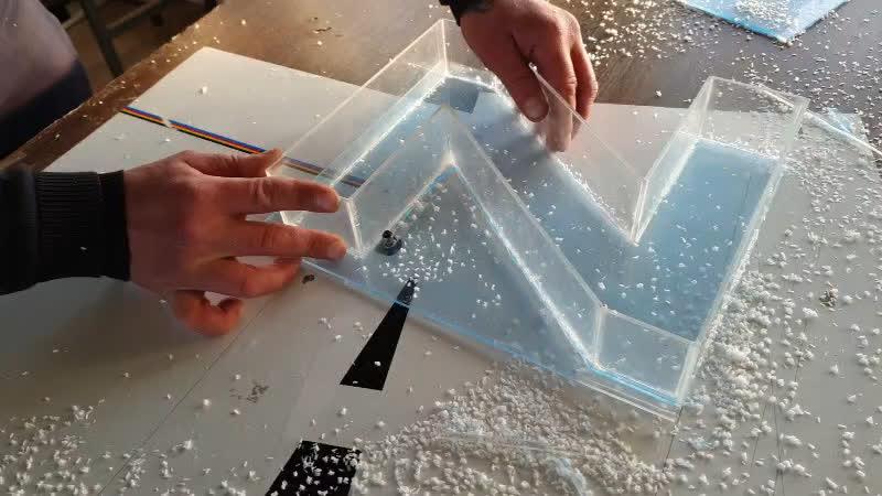 Изготовление букв для наружной рекламы различной конфигурации