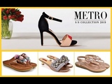 Metro Shoes New Ladies Footwear Collection 2019-20=Stylish Casual Summer Footwear