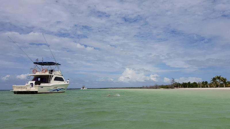 Куба, Варадеро, остров Кайо Бланко