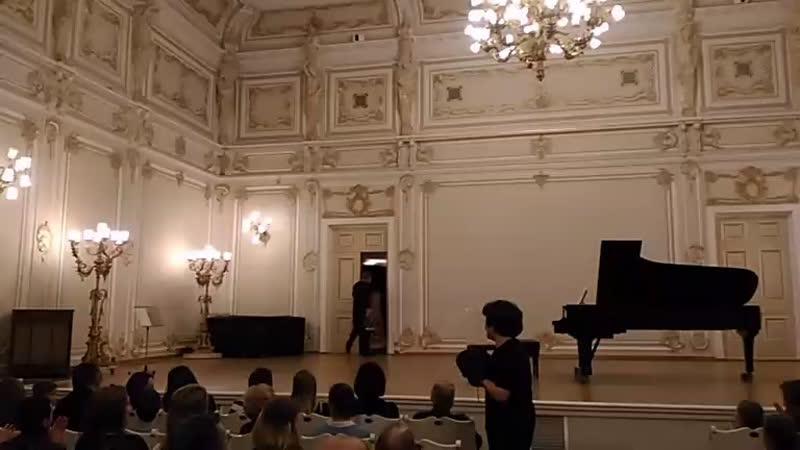Иштван Вардаи ( виолончель, Венгрия ) и Инга Дзекцер ( фортепиано, Россия ) на IX МФ камерного исполнительства «Серебряная лира»