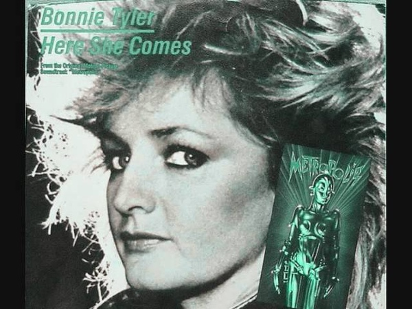 Here She Comes Very Rare 12'Version UK Bonnie Tyler