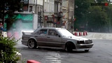 Mercedes W201 190E V8 swap 5 5 AMG Drift PURE SOUND Kajetan Rutyna GDMP Kłodzko 2016