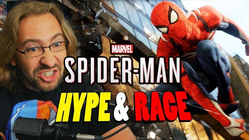 SPIDER-MAN PS4...HARD MODE: Hype Rage Compilation