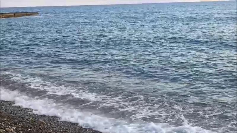 Абхазия. Черное море. г. Новый Афон.