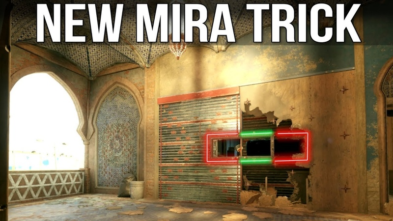 NEW Mira Trick AGAIN! - Rainbow Six Siege Tips Tricks