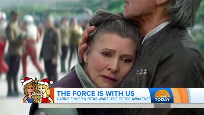 Carrie Fisher And Her Frenchie Are A Force To Be Reckoned With - TODAY