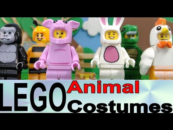 LEGO Animal Suits Knockoff Minifigures Review